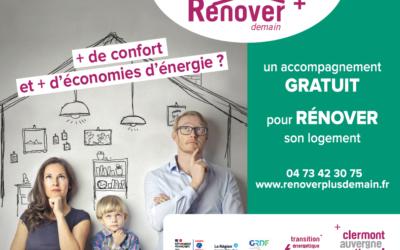 Rénover+ Demain: Le service de Clermont Auvergne Métropole pour vos projets de rénovation.
